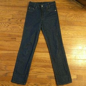 Levi's Jeans - Vintage Levi's Straight Leg Student Fit Orange Tab